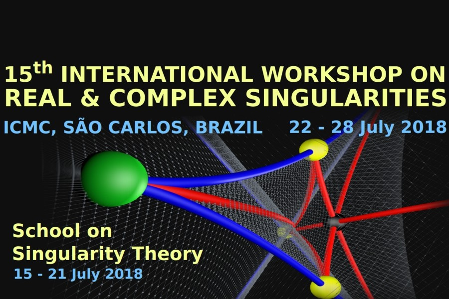 15th International Workshop on Real and Complex Singularities / School on Singularity Theory