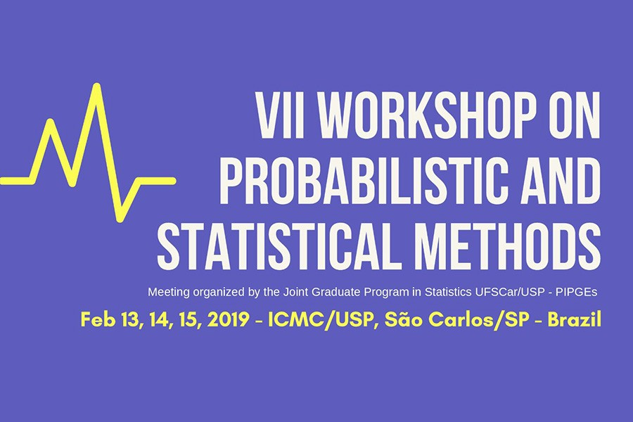 Inscreva-se no Workshop on Probabilistic and Statistical Methods